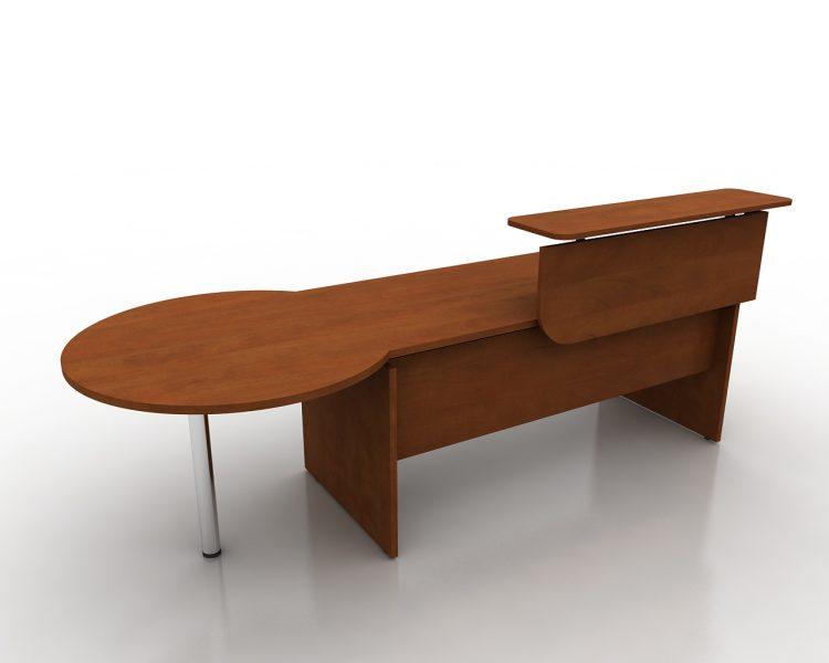 Tiesus klasikinis darbo stalas- Recepcija M2