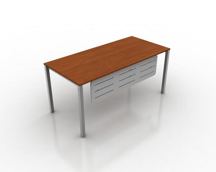 Tiesus darbo stalas ant metalinio karkaso G2