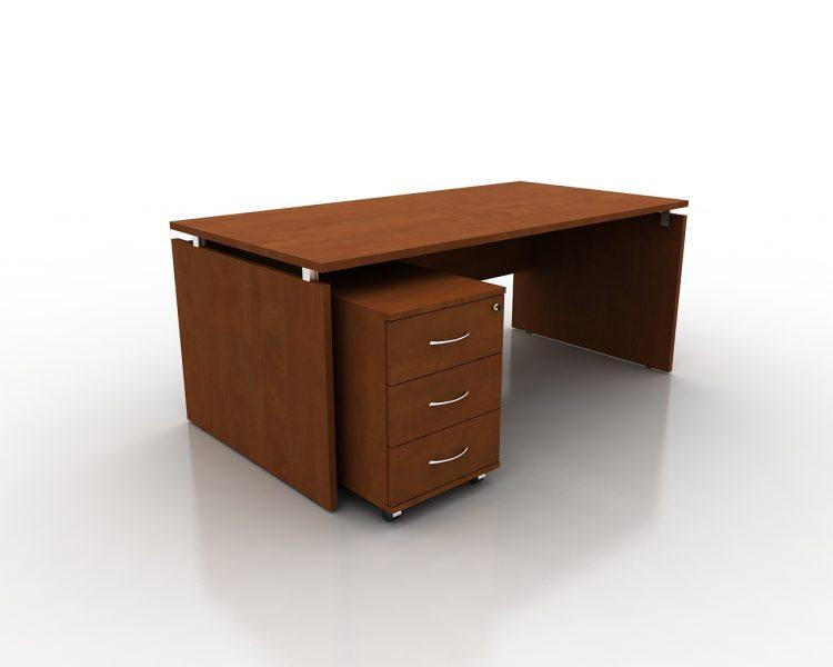 Vadovo darbo stalas ant LMDP kojų FM18